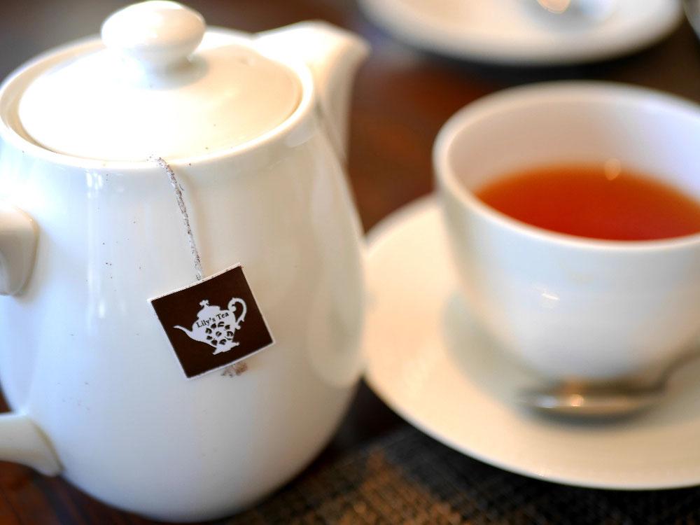 Lily's teaの紅茶が飲めるレストラン