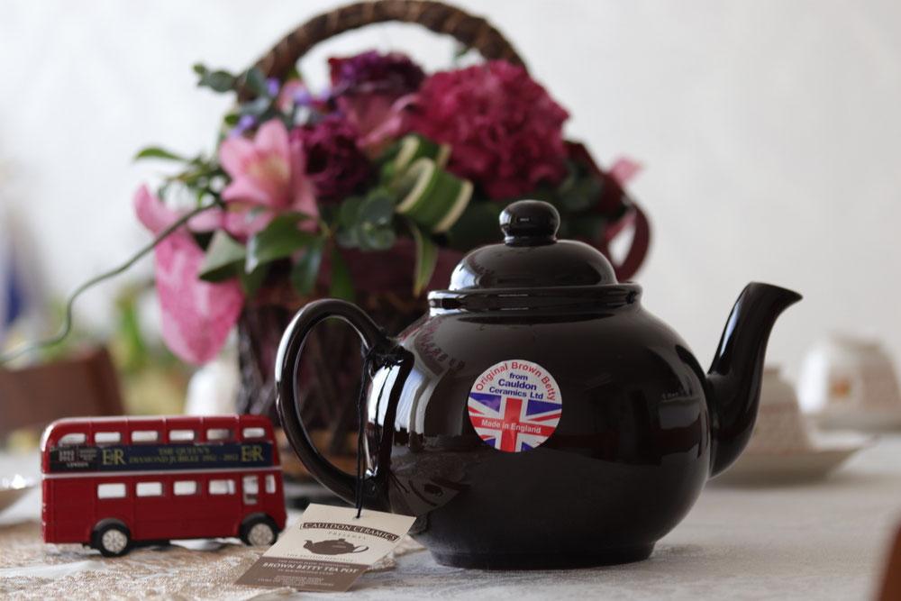 Brown betty pot