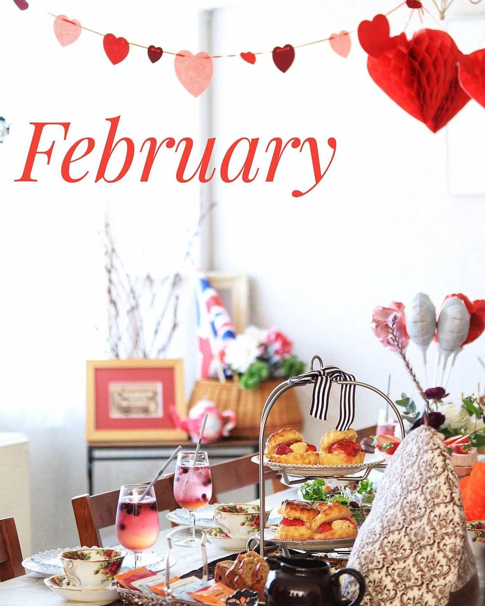バレンタインティーパーティー