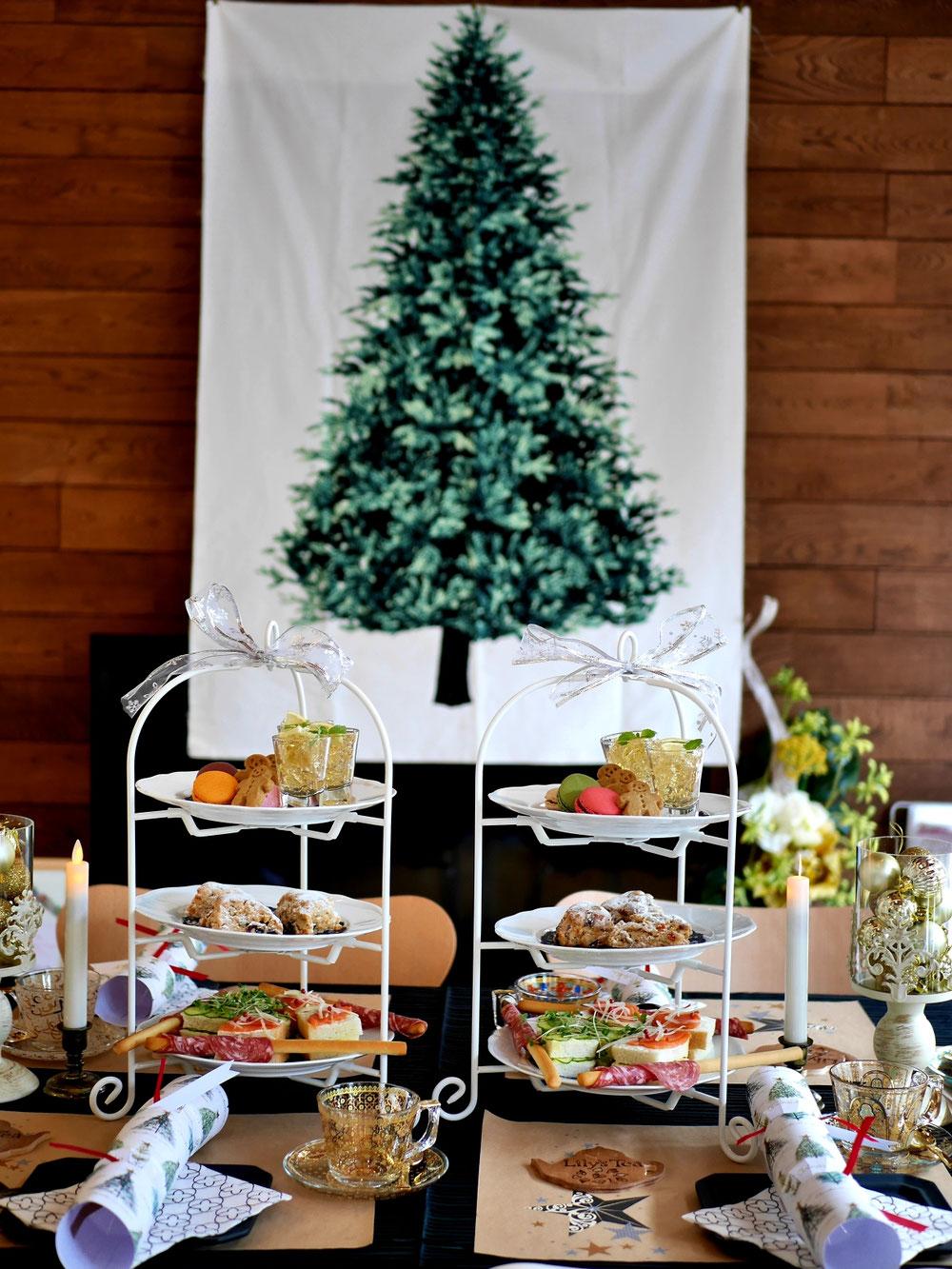 クリスマスのタペストリー