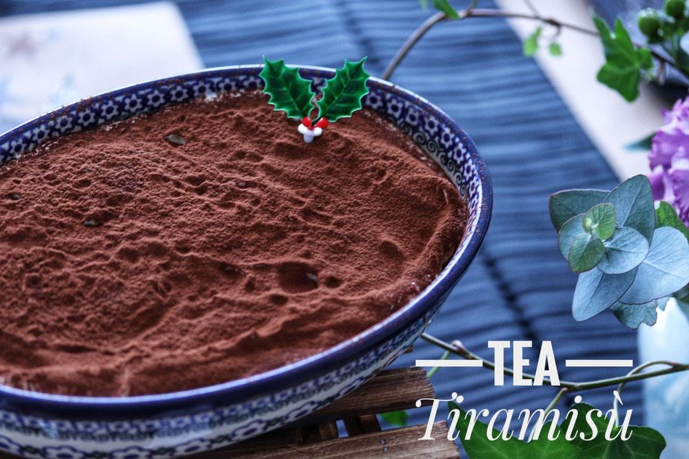 紅茶のティラミス