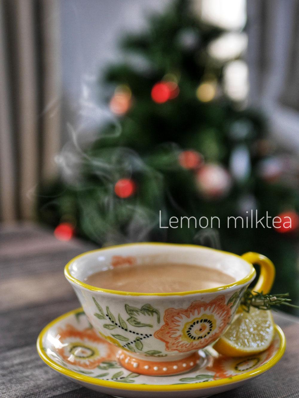 Lemon milktea
