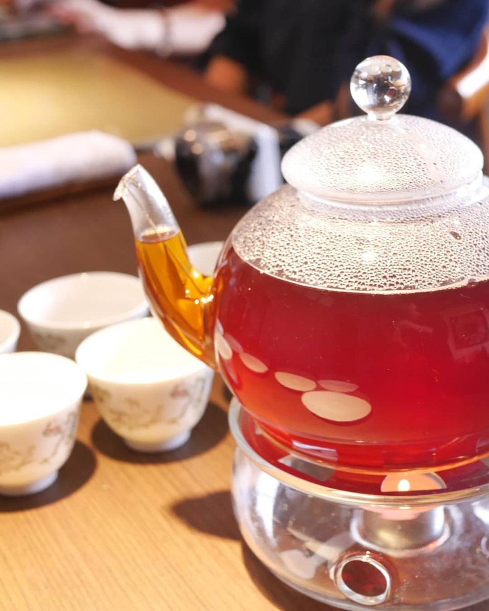 最後の紅茶はデザートに合わせて、ディンブラ