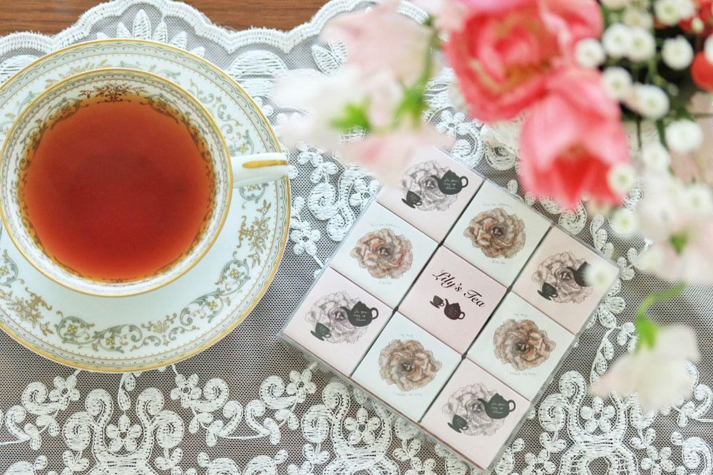 Lily's tea ベルギー産オーガニックのチョコレート