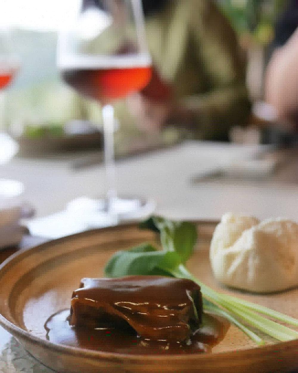 ルフナ煮込みの豚の角煮