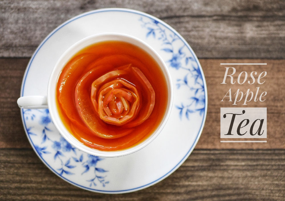 Rose apple tea