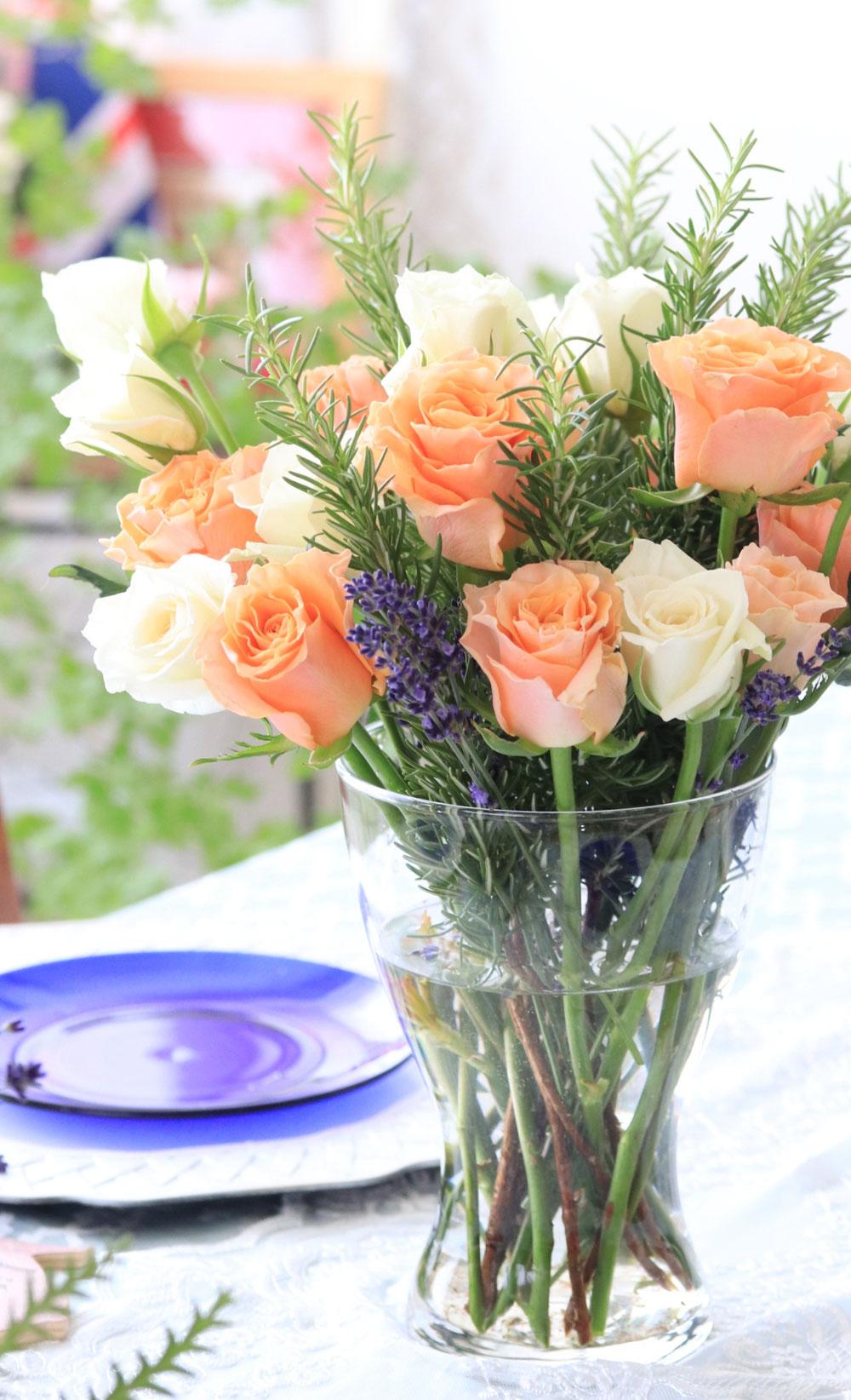 素敵なバラありがとう