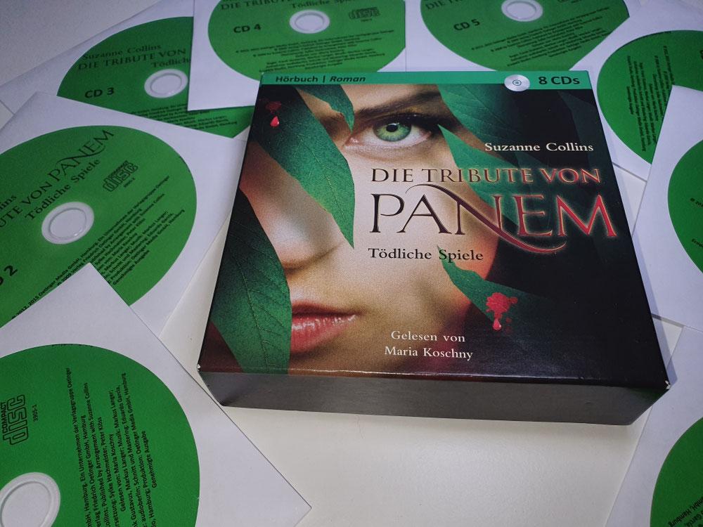 Titelbild und CDs
