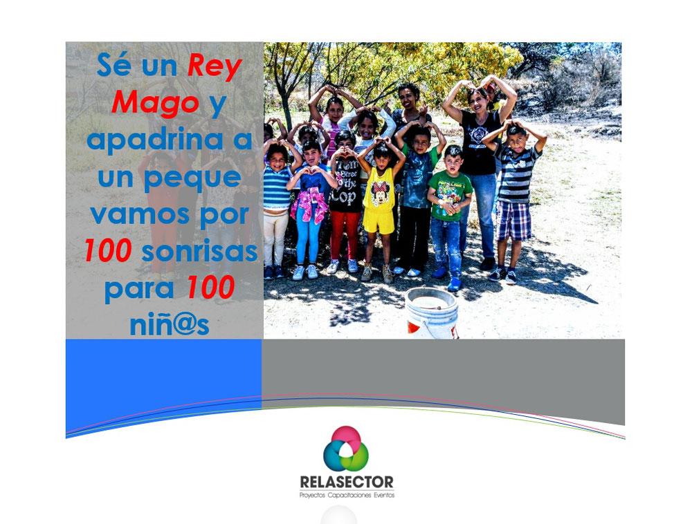Campaña 2017-2018, 💯 sonrisas para 💯 niñ@s