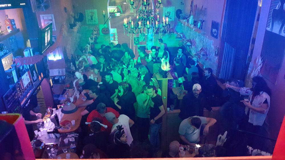 Dj Rainox@Halloween Party Flavour Neunkirchen
