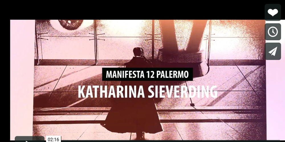Katharina Sieverding Manifesta 12 Palermo