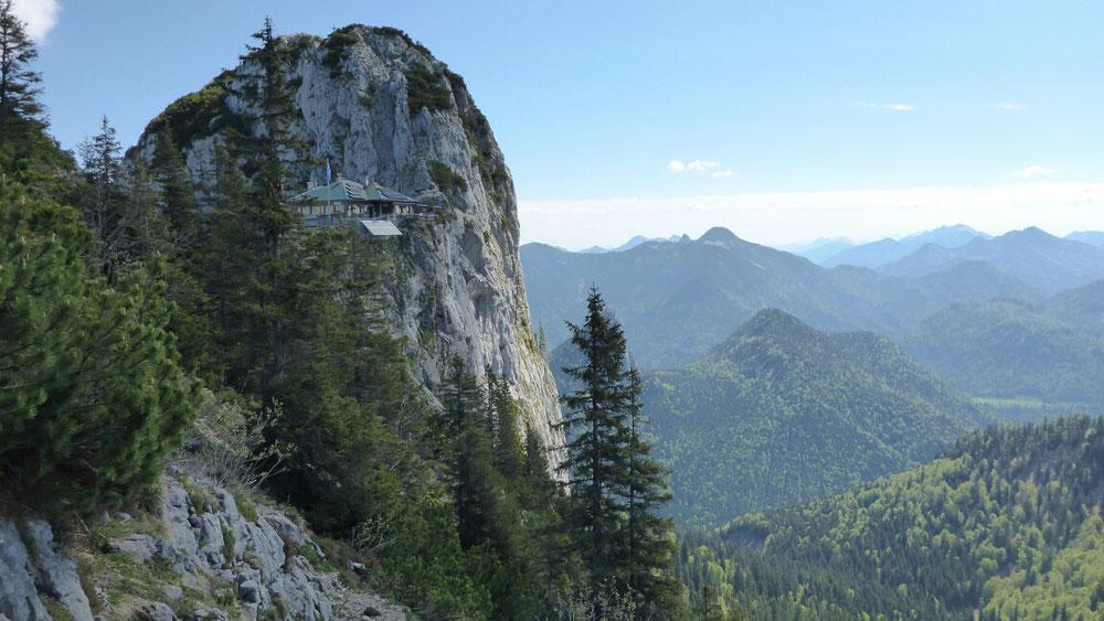 Klettersteig Tegernseer Hütte : Zur tegernseer hütte adioutdoor