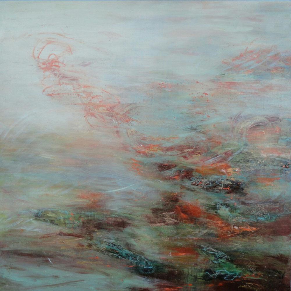 Stream,  76 x 76 / private collection