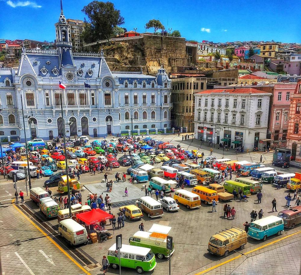 Valparaíso, der perfekte Ausgangspunkt für jede Reise!