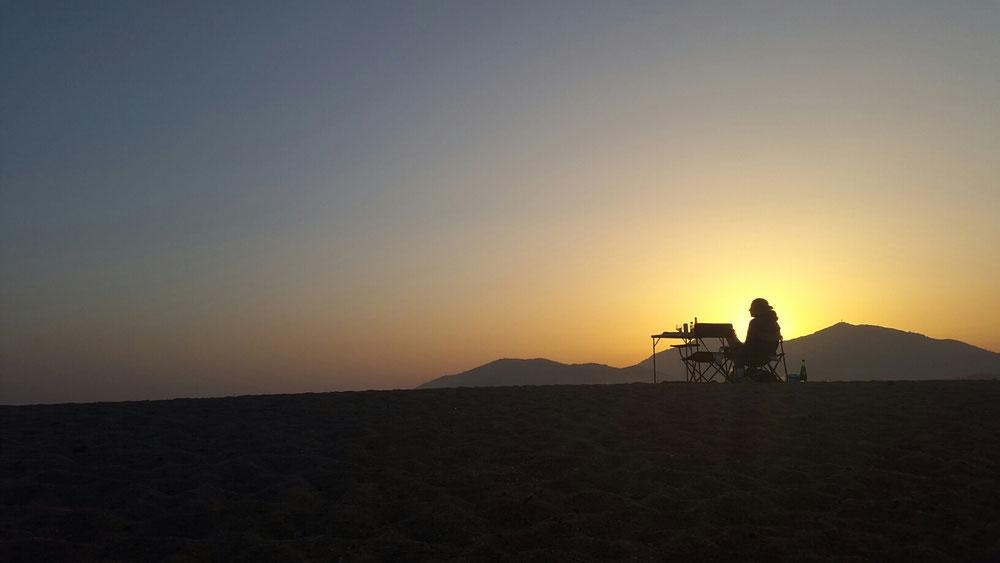 Nora Oelbermann auf Korsika