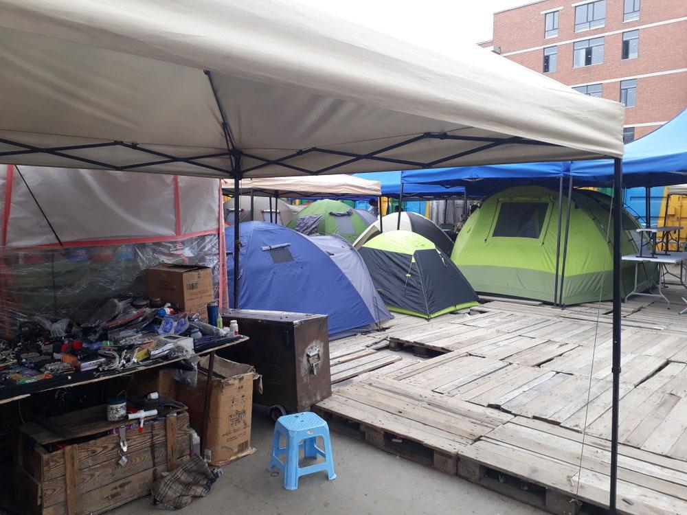 ... Und fürs Camping