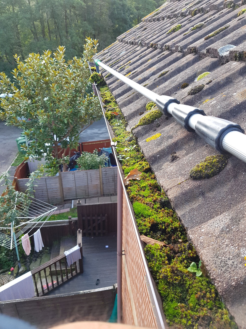 Gutter Clearing Exeter Window Cleaning