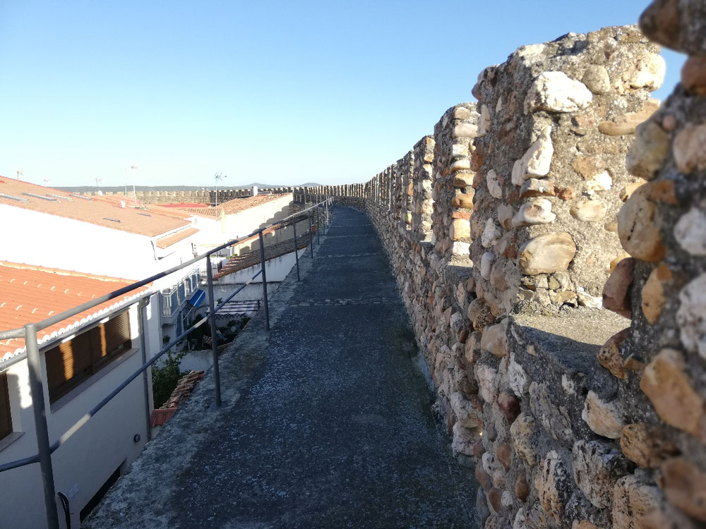 Stadtmauer Galisteo