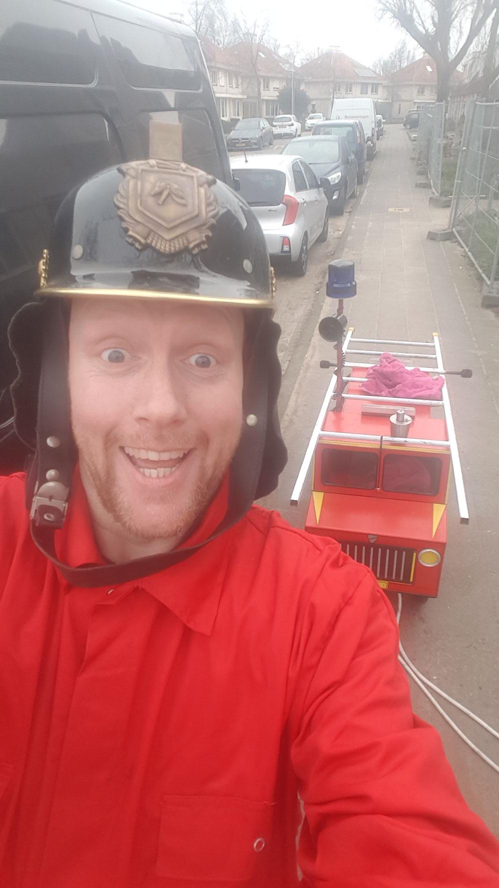 Gaan als de brandweer!!...