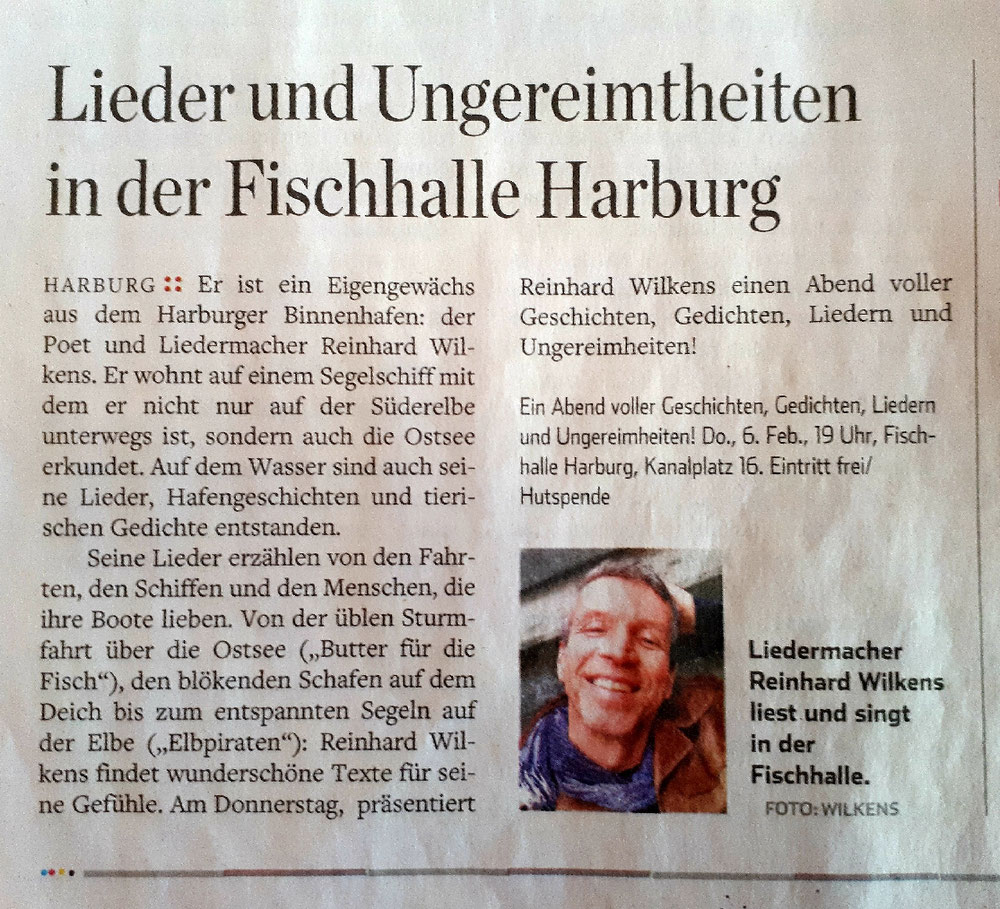 Hamburger Abendblatt Februar 2020