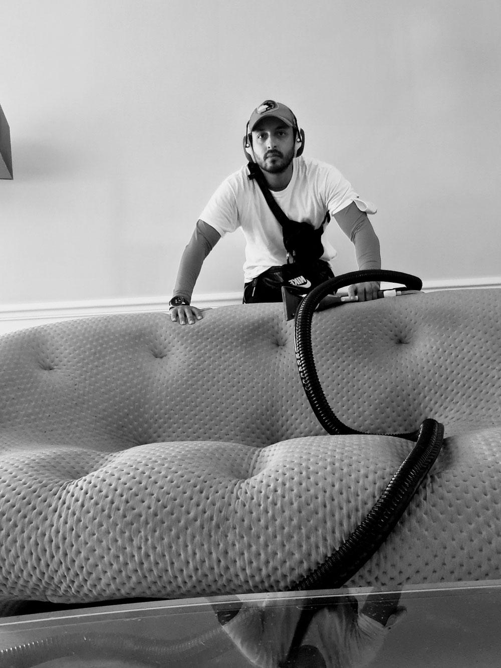 Nettoyage canapé Ploum Ligne Roset