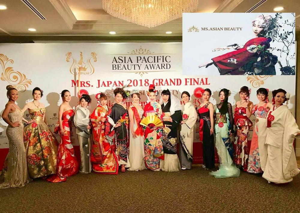 ⚜Ms.AsianBeauty2018・日本大会⚜