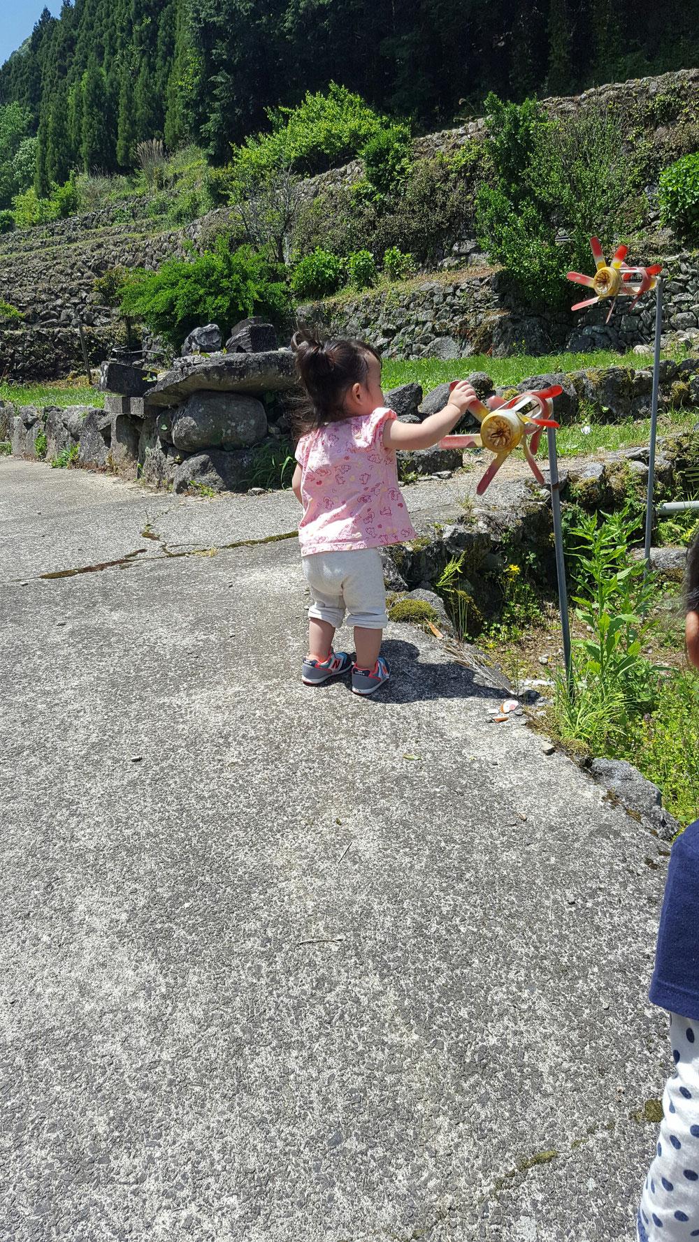 おじいちゃんがいる佐賀県多良岳にてマイナスイオンたっぷり