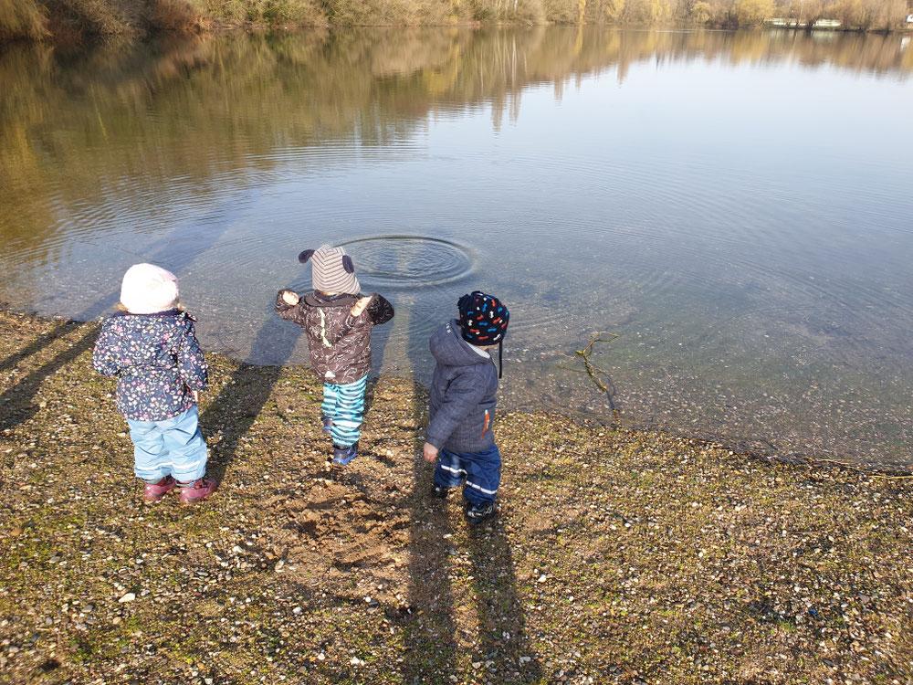 Am Fühlingersee spazieren