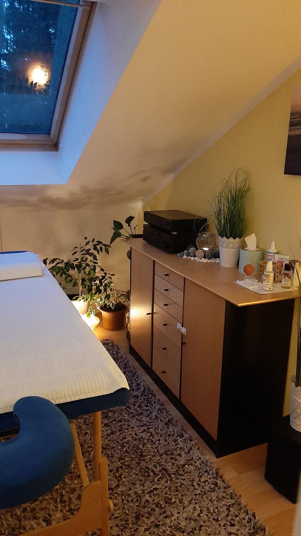 Mein Massagezimmer