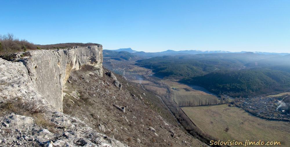Вид на Качинскую долину с Фыцки-Кая