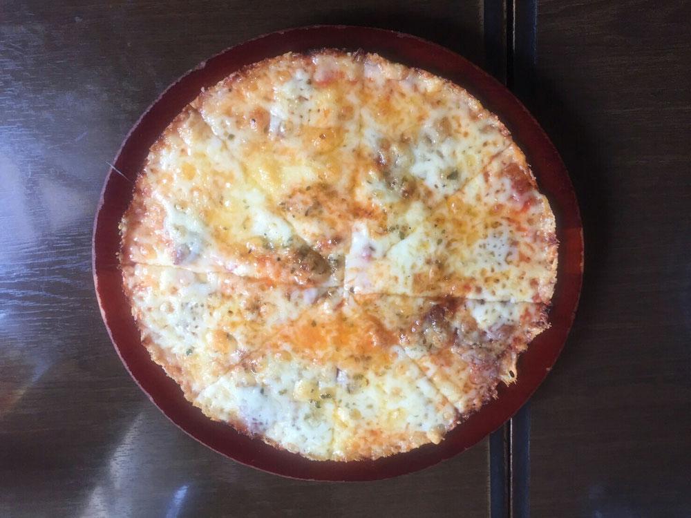 オリジナルジョーズのピザ