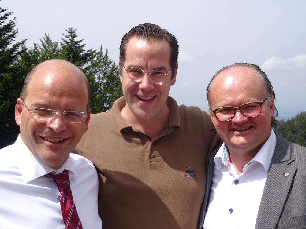 Die Veranstalter: Andreas Spaetgens, Matthias Vickermann, Claudio Labianca
