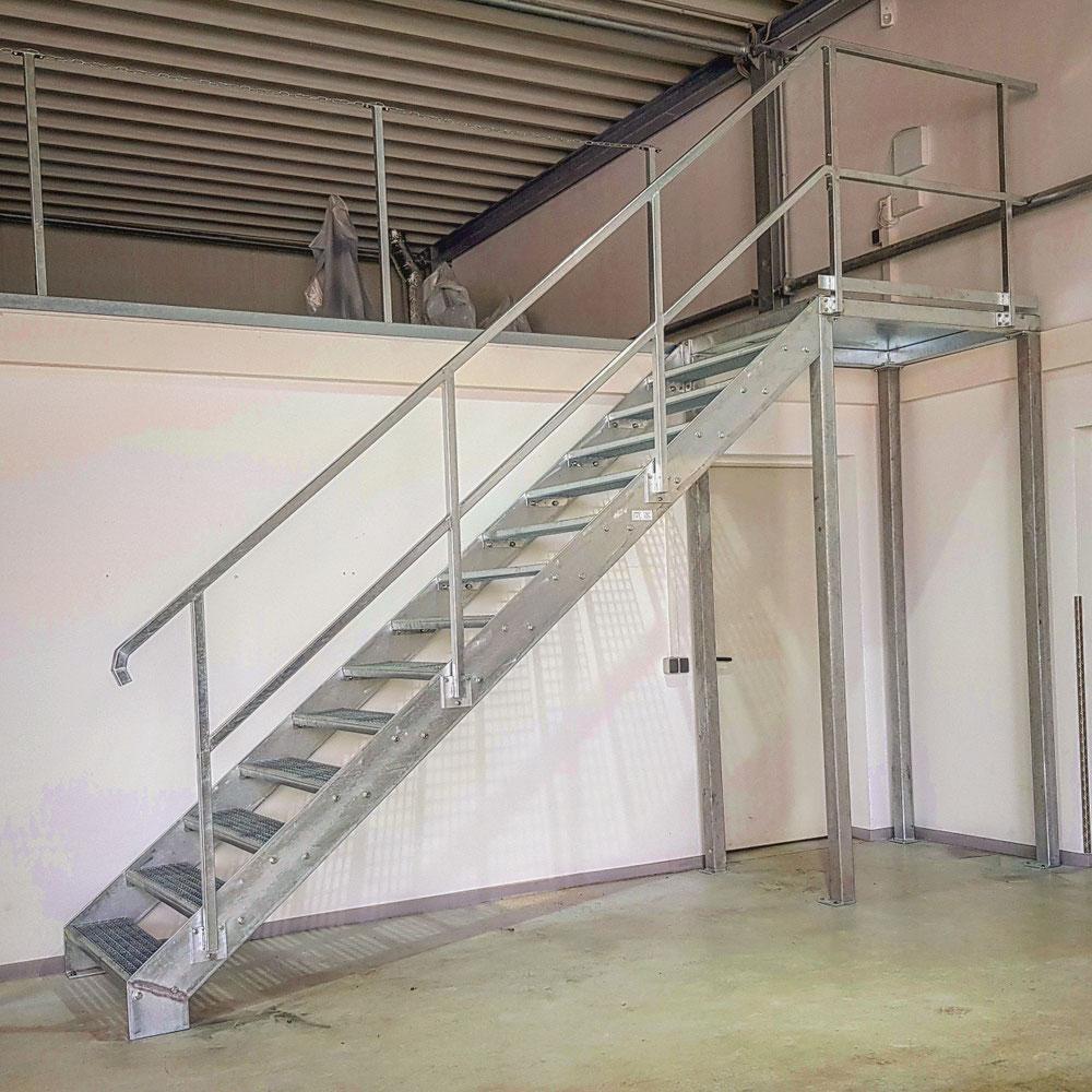Industrielles Treppensystem
