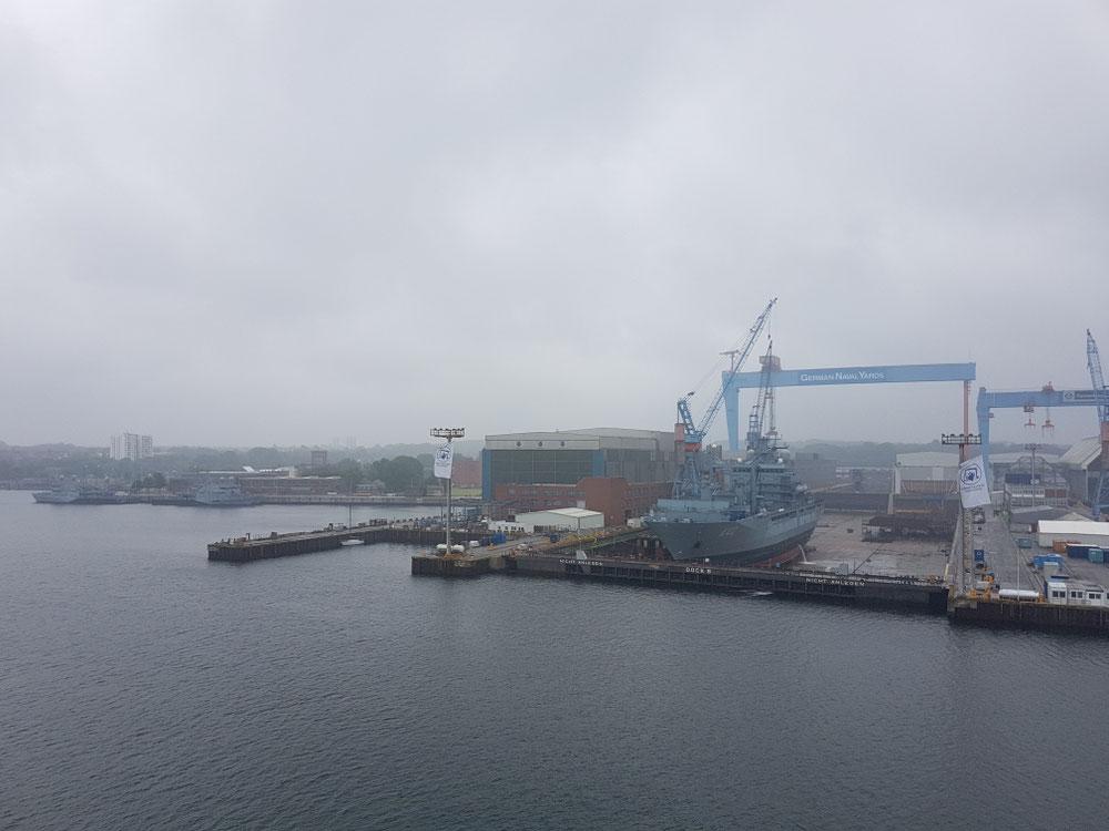...willkommä Kiel...