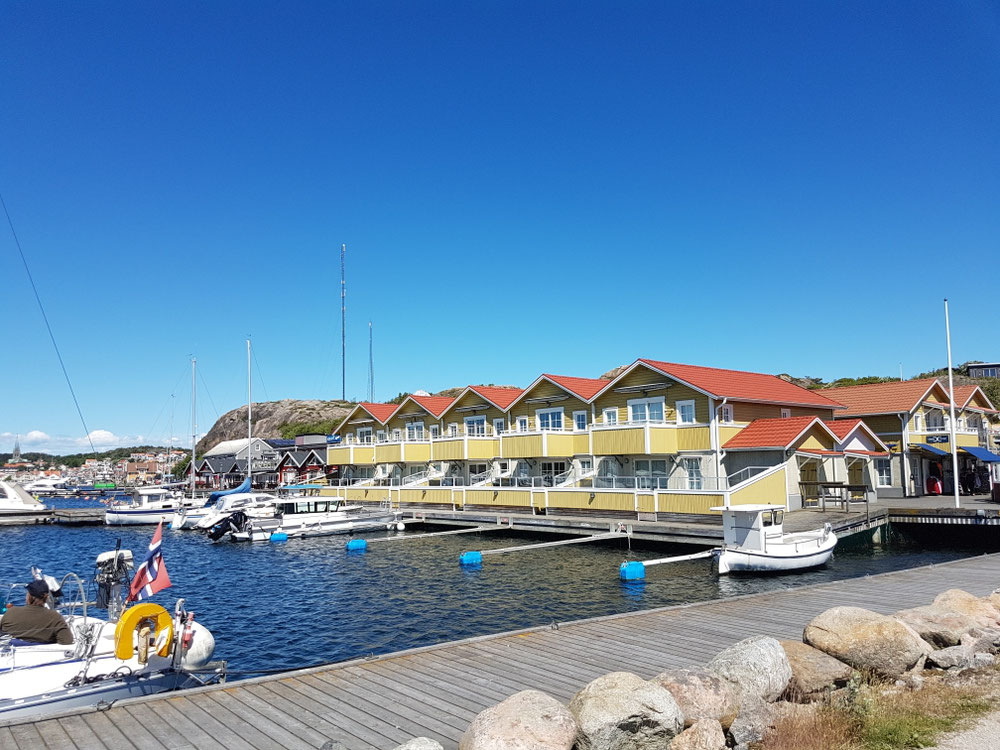 D Westküschtä oberhaub Göteborg isch wunderschön u het unzähligi chlini Fischerdörfli