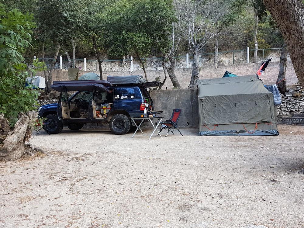 Worst Camping ever🤢 aber diräkt ir Stadt