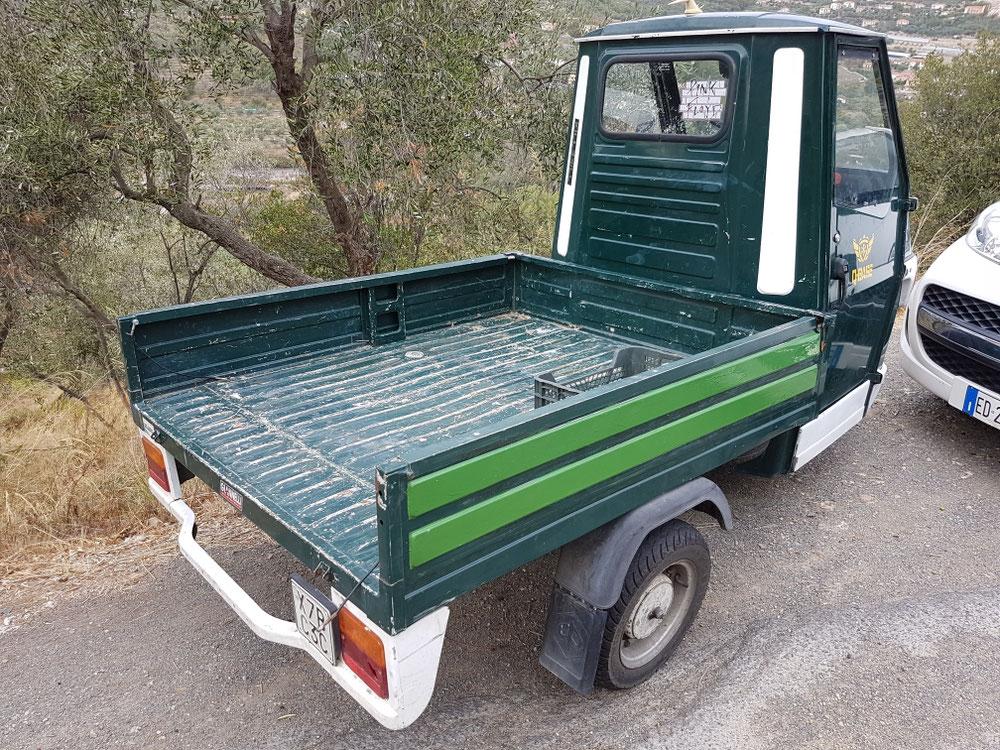 Pickup-Trick Italian-style💪
