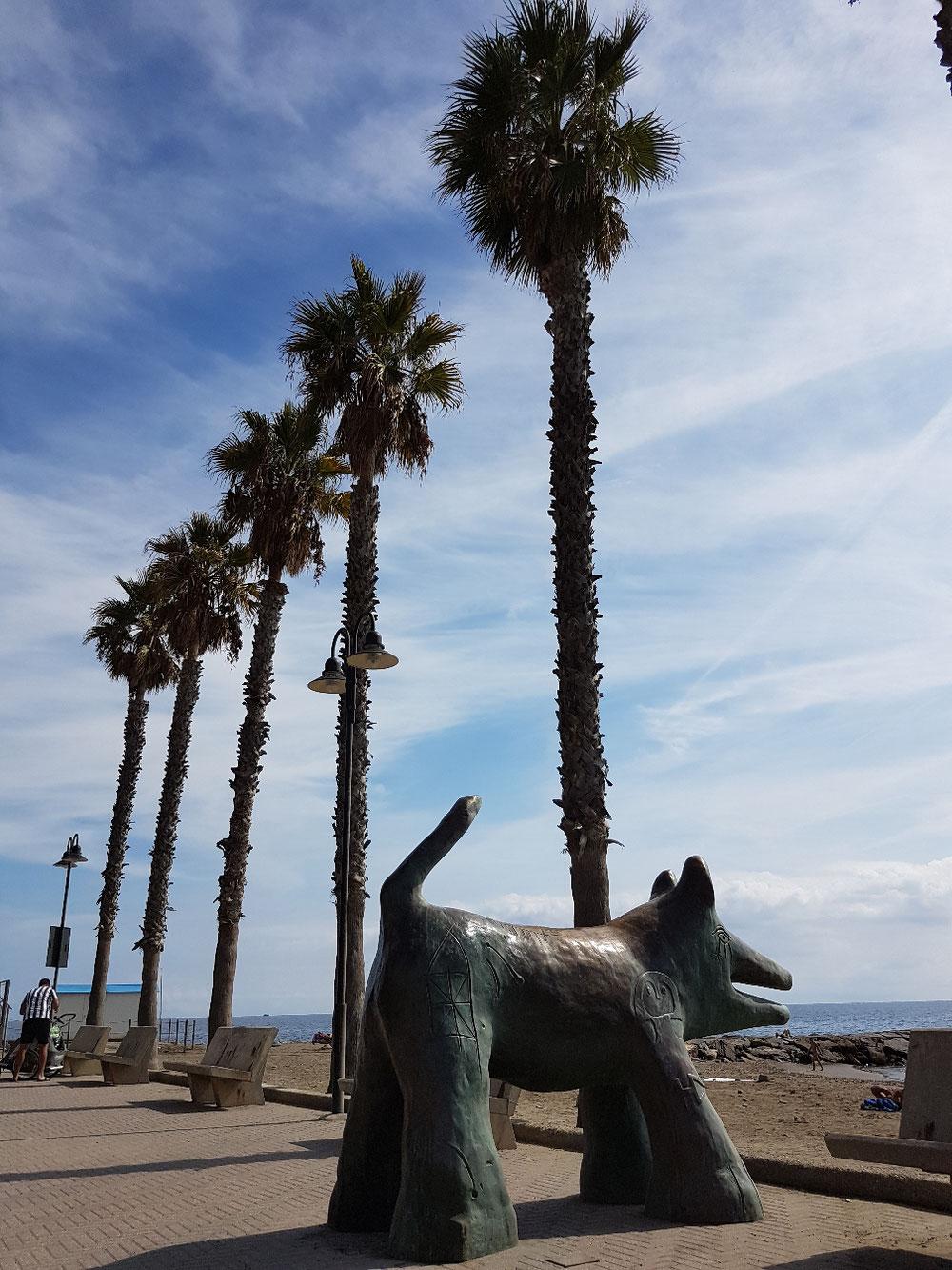 ...u der letsch Tag hei mir no am Strand vo St.Stephano verbracht...