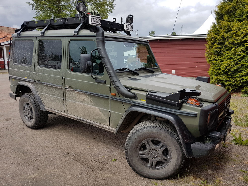 Svensk Military isch guät grüschtet...