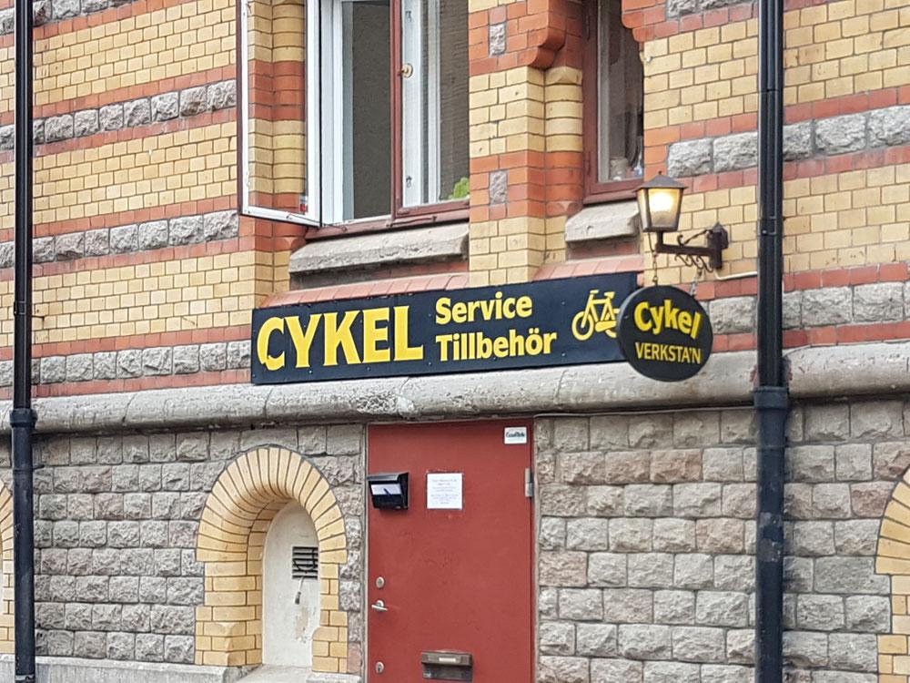 Di hei auso o Cykels hiä...