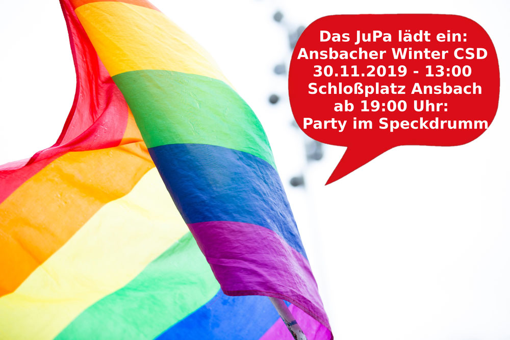Symbolbild Pridefahne