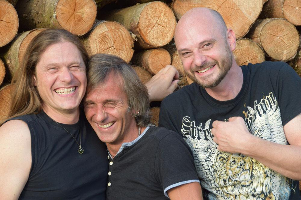 Dave, Winni und Tom