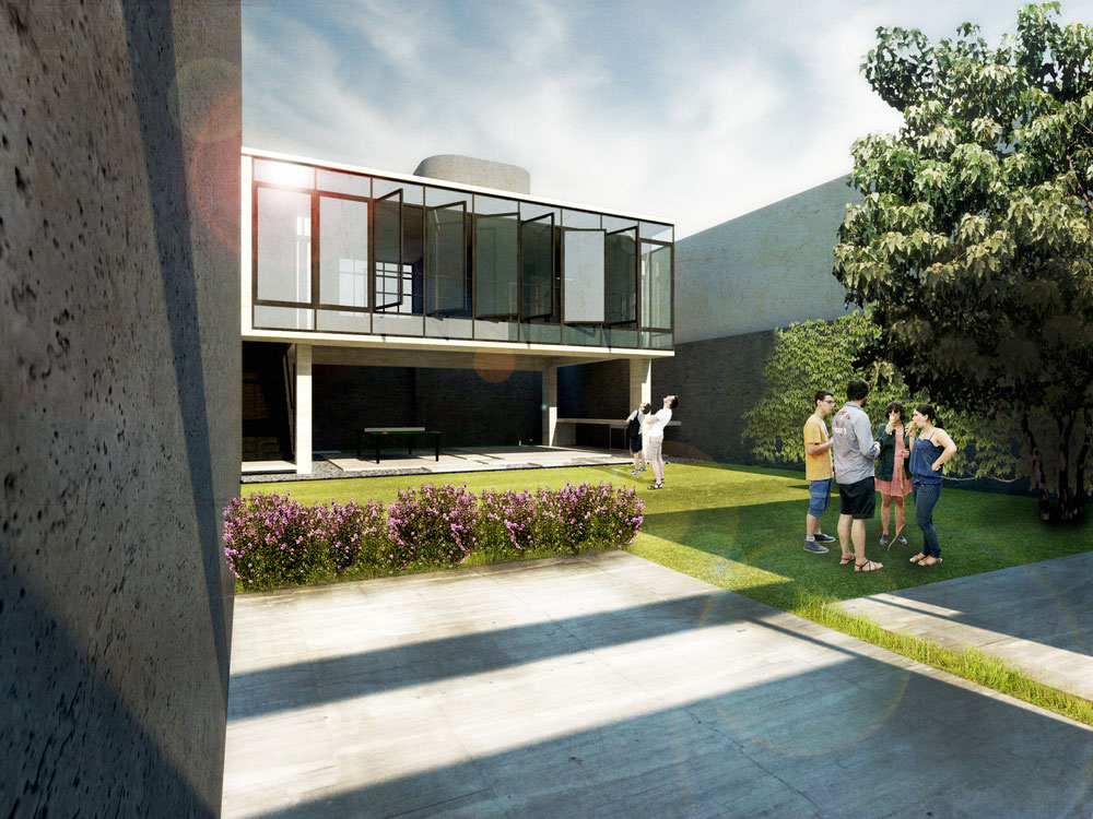 Casa jardín, 2014   arq ivismo arquivismo arquitectura diseño y ...