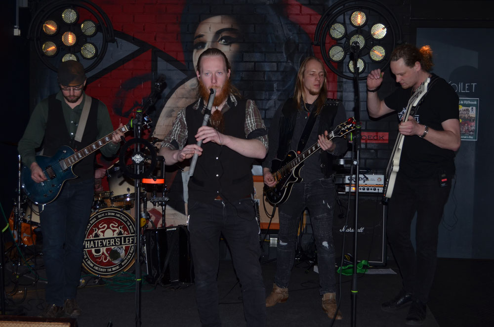 Amazing gig in O'Ceallaighs Irish Pub Groningen with great audience! - Whatever's Left