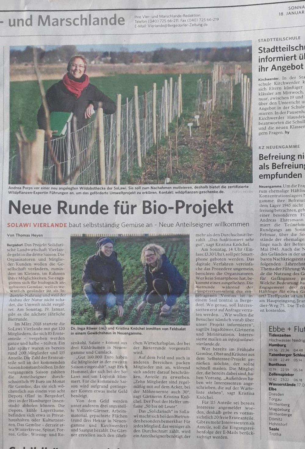 Bergedorfer Zeitung vom18.1.2020