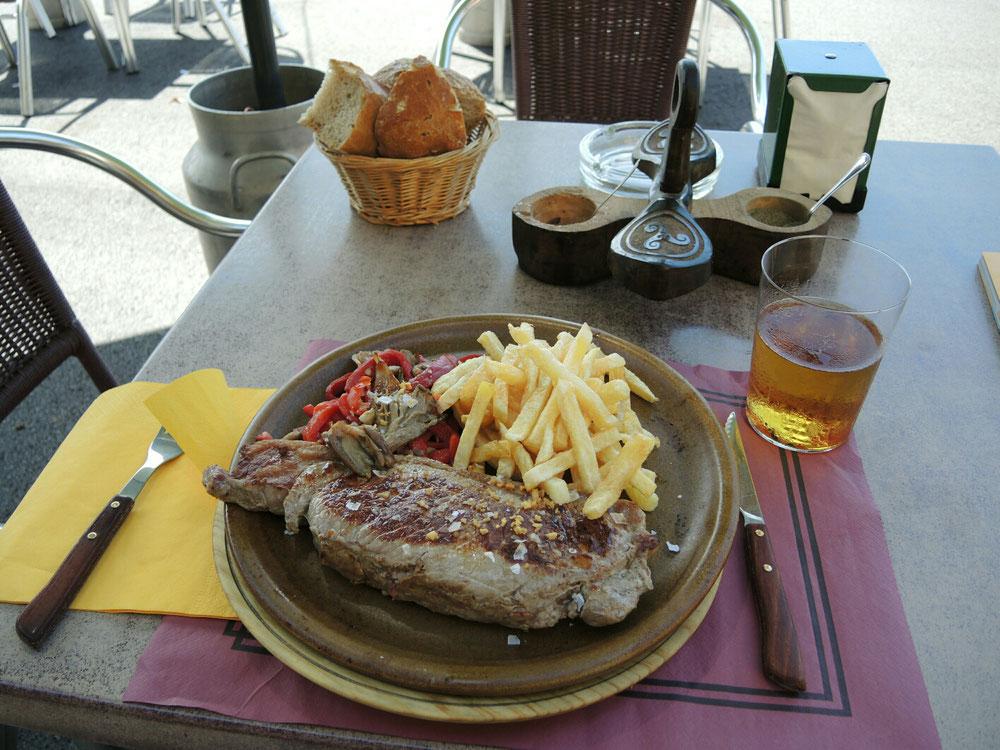 Fleisch in Asturien ist absolute Spitze.