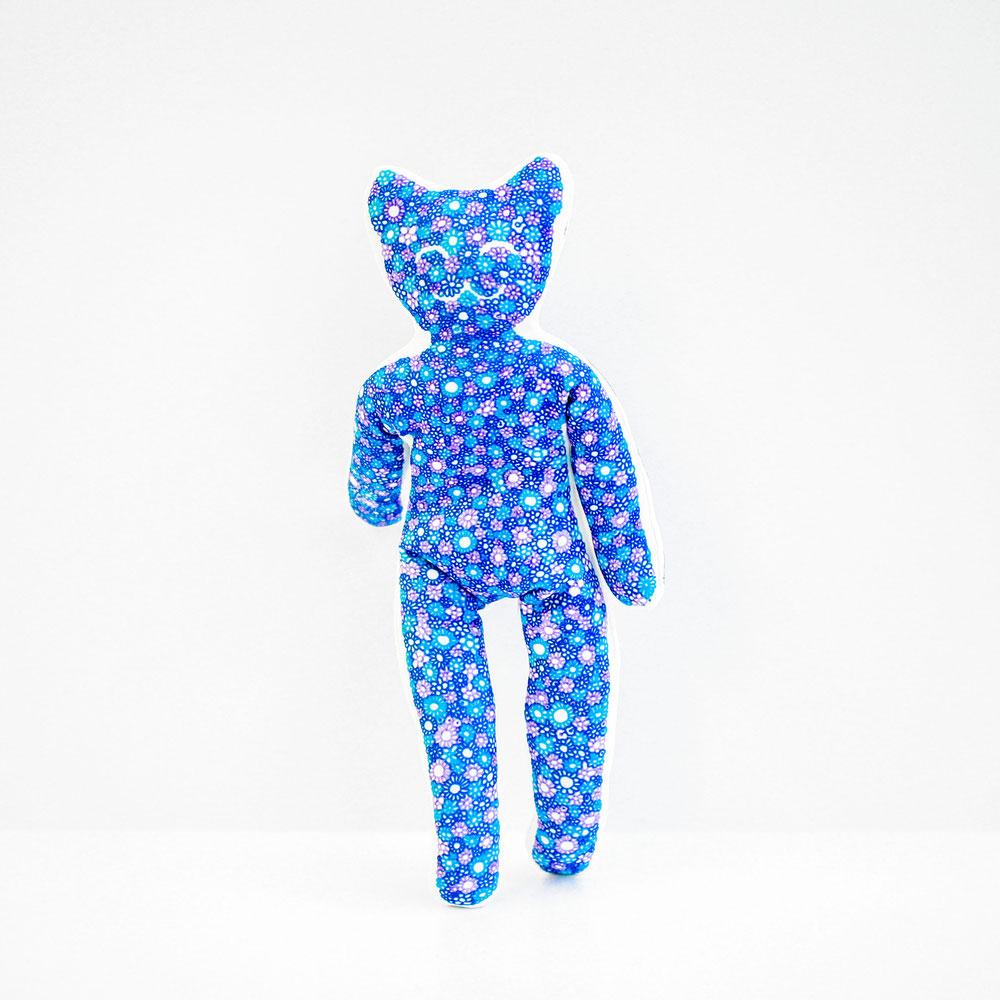 YogaCat Fleur bleue ®yogitoy
