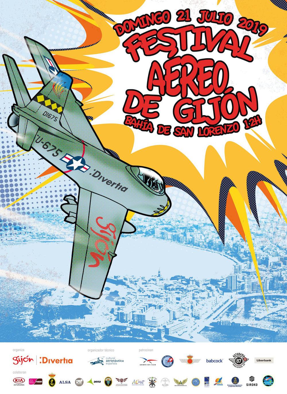 XIV Festival Aéreo Internacional de Gijón
