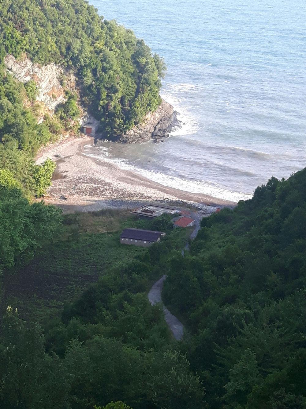 ein idyllischer Strand
