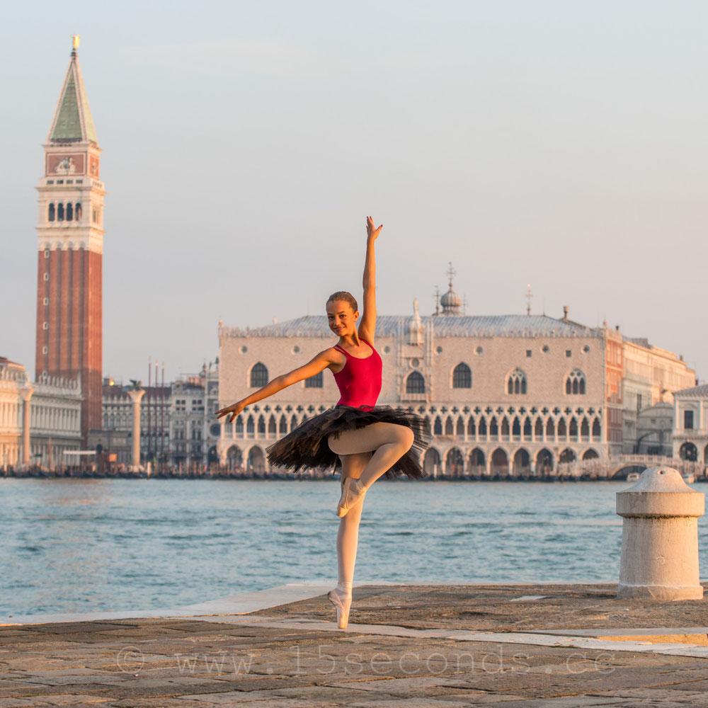 Venezia Ballerina San Giorgio San Marco